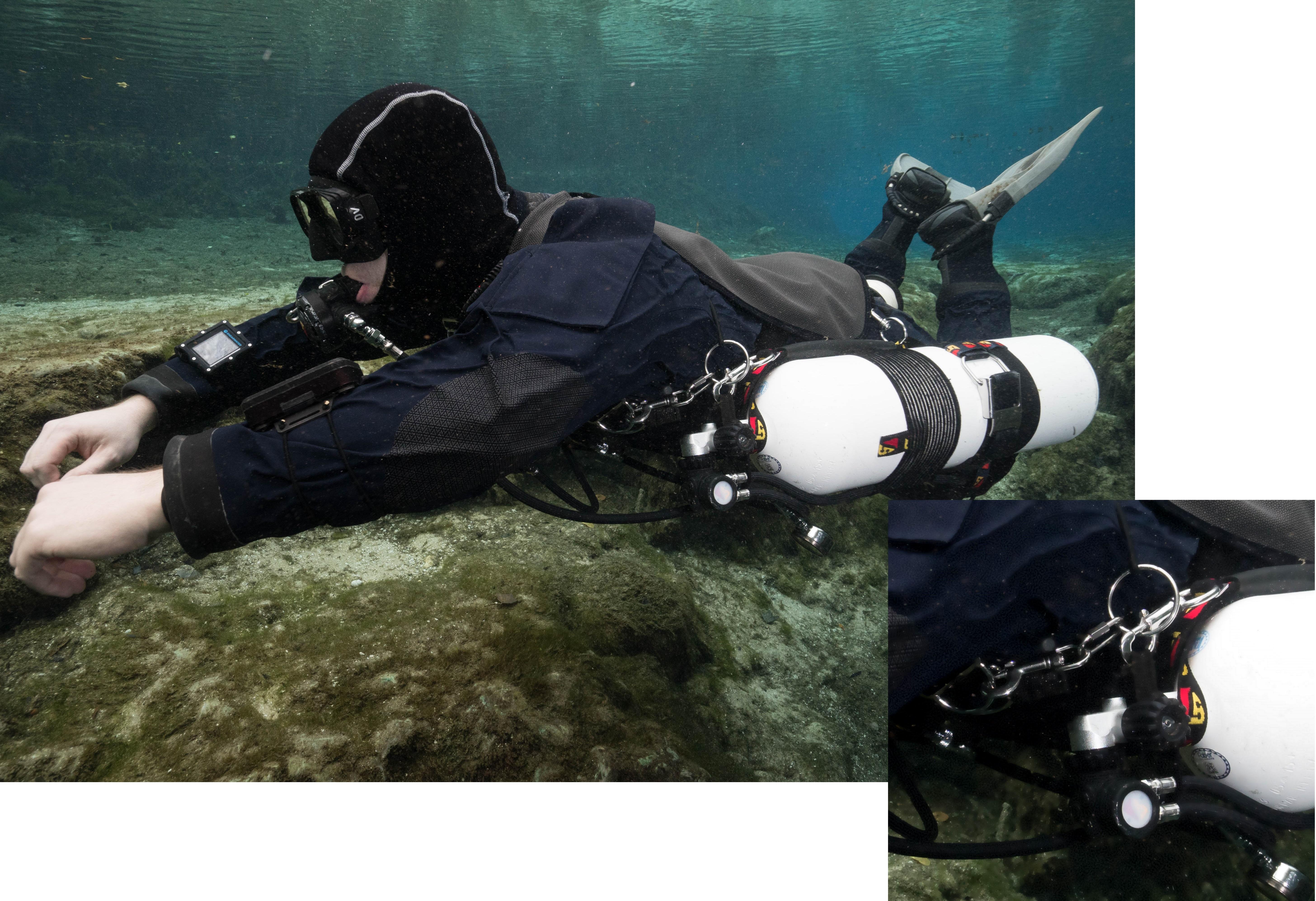 Sidemount bungee styles dive rite - Dive rite sidemount ...