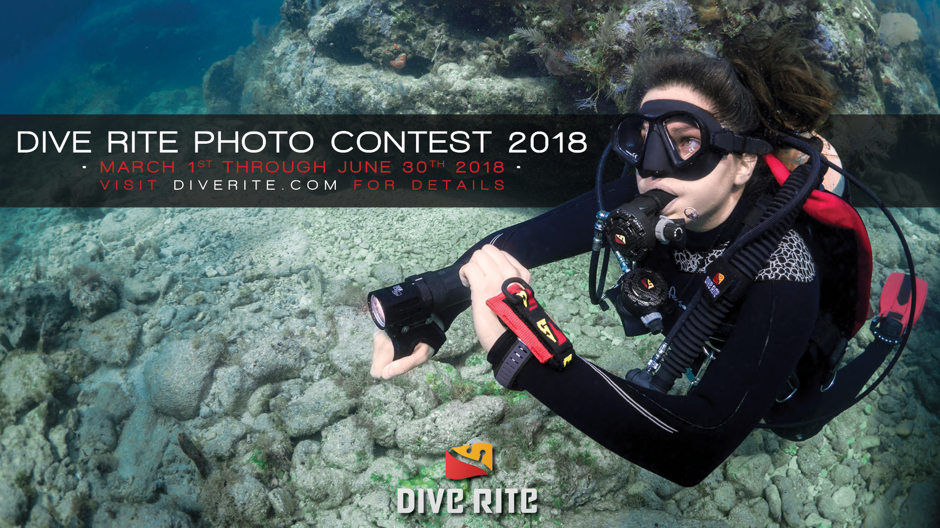 2018 dive rite photo contest dive rite - Dive rite sidemount ...
